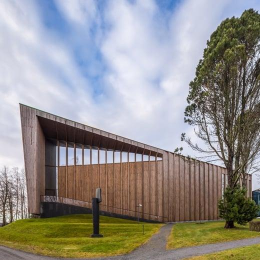 Göstan Paviljonki esittelee puurakennesuunnittelun taitoa