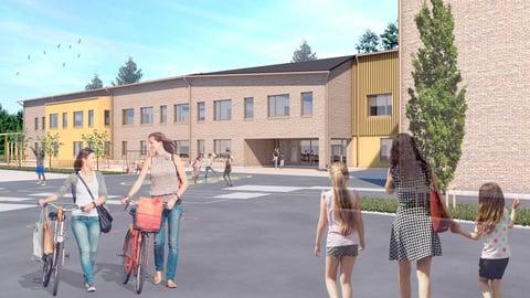 Jokirannan koulu rakennetaan 10 vuoden takuuajalla