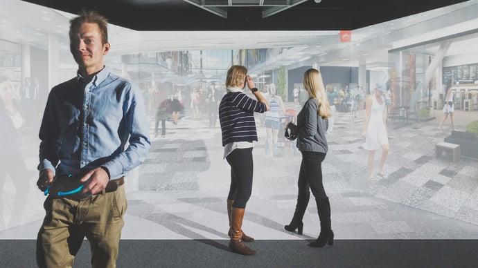 cave-virtuaalitodellisuus-kauppakeskus-projektitiimi