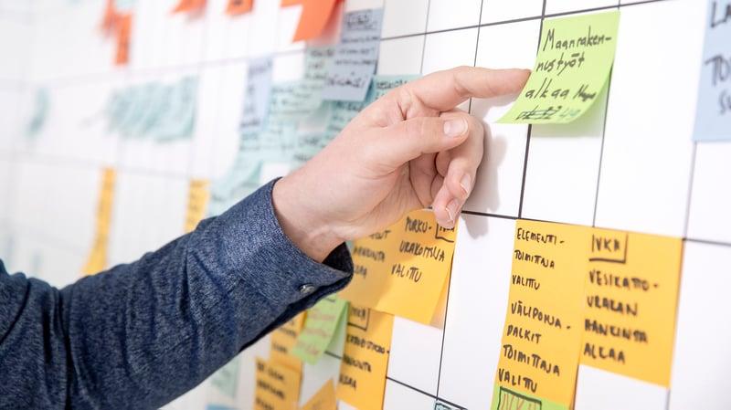 Rakentamisen projektinjohtaminen on taitolaji - se vaatii monipuolista ja innovatiivista osaamista.