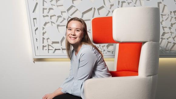 Kesä A-Insinöörinä: Katarina Varteva selvitti hiilijalanjälkeä