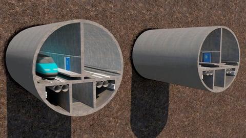 Suunnittelijat valmistautuvat Tallinnan tunnelin seuraavaan suunnitteluvaiheeseen
