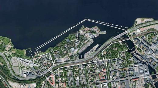 Särkänniemi city plan, Tampere