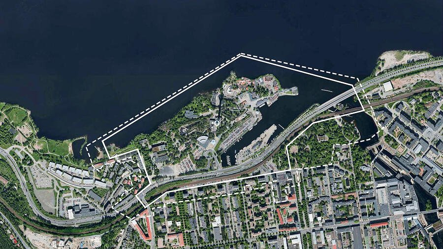 Särkänniemen asemakaavamuutos, Tampere