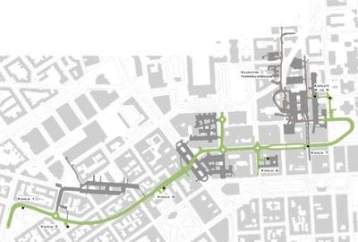 Keskustan huoltoväylä, Helsinki