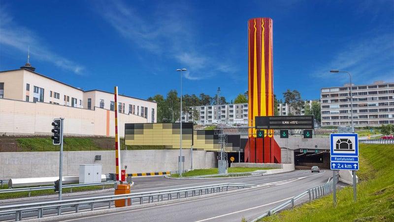 Rantatunneli, Tampere
