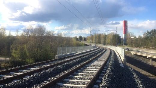 Hallinoja Bridge - Tampere tram line, Tampere