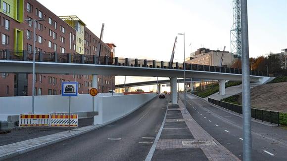 Teollisuuskadun tunneli avataan liikenteelle – A-Insinöörit mukana suunnittelussa