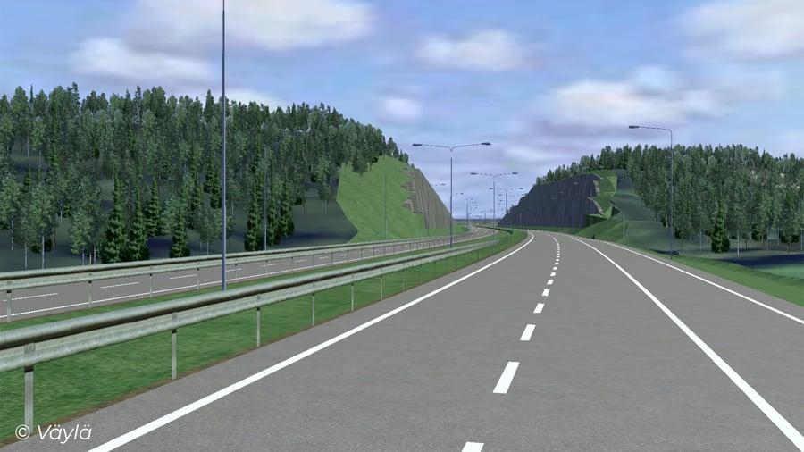 Valtatien 4 parantaminen välillä Vehniä - Äänekoski