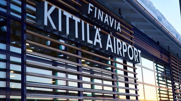 Kittilän lentoaseman laajennus tuo joustavuutta joulusesonkiin
