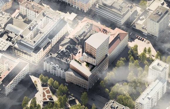 Graadi Oulun Osuuspankin arkkitehtuurikilpailun voittoon