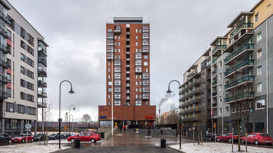Espantorni - Tampellan Esplanadi, Tampere