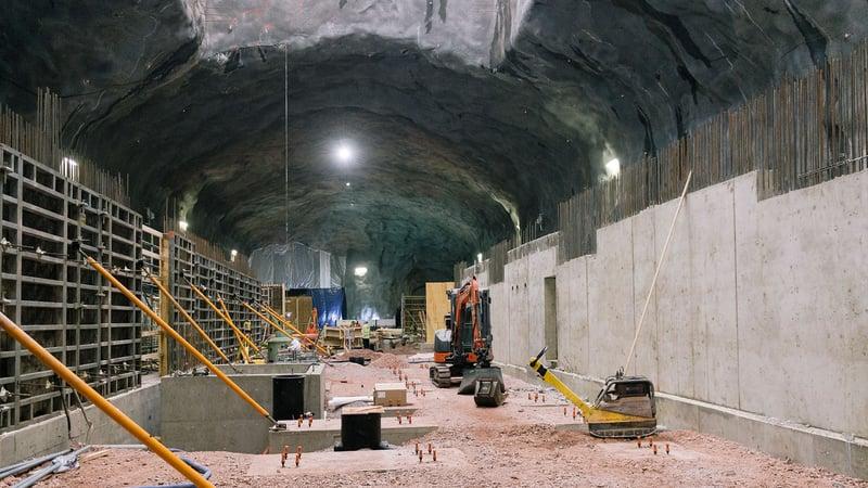 Kalliorakennesuunnittelun rakentamismenetelmät ovat Suomessa kehittyneet pitkälle.