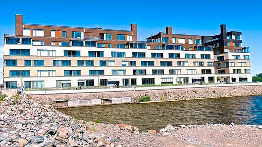 Housing companies Fiskari and Fregatti, Kalasatama, Helsinki, Finland