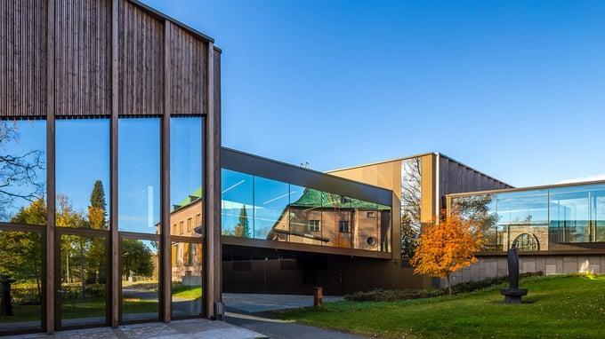 Göstan paviljonki on upea kulttuurirakennus Mänttä-Vilppulassa.