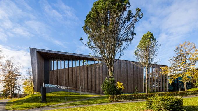 Puurakentamisen upea kohde, Göstan paviljongin ainutlaatuiset rakenneratkaisut ovat A-Insinöörien suunnittelemat.