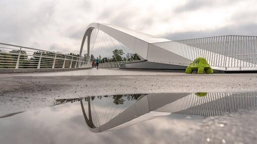 Isoisänsilta Bridge, Helsinki
