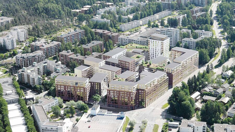 Mellunpuiston asuinalue, Helsinki