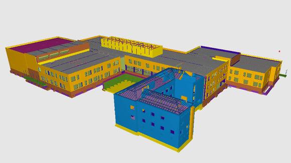Monikko-koulukeskuksen rakentamisessa ehkäistään kosteusongelmia rakenneratkaisuilla