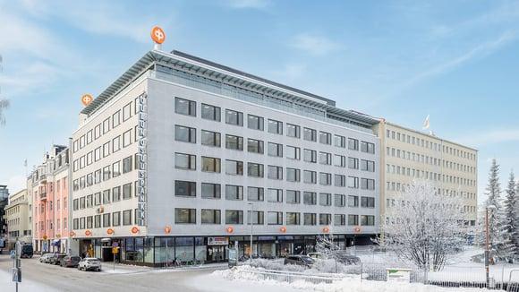 Oulun Osuuspankki kehittää keskustakortteliaan arkkitehtuurikilpailulla