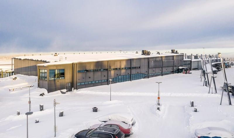 Rovaniemen lentoasema, Rovaniemi