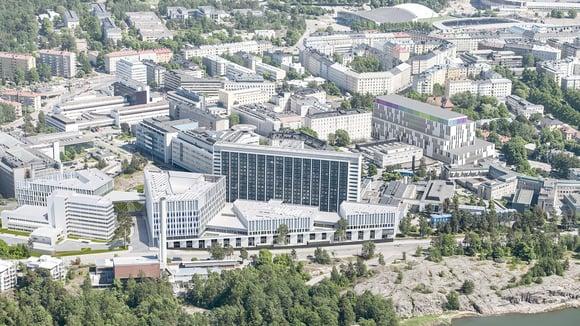 HUSin Siltasairaala palkittiin maailman parhaana julkisen sektorin BIM-projektina