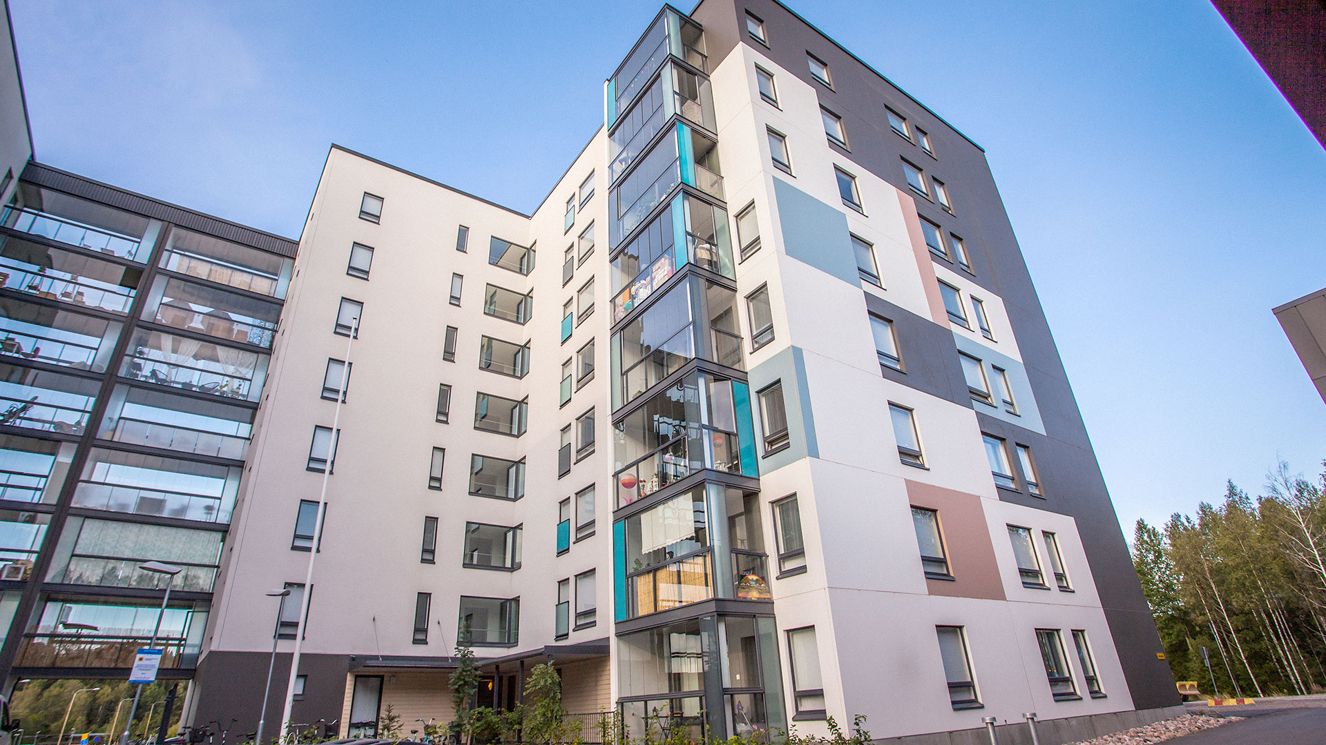 Residential building with the Nordic Swan Ecolabel in Hakunila, Vantaa