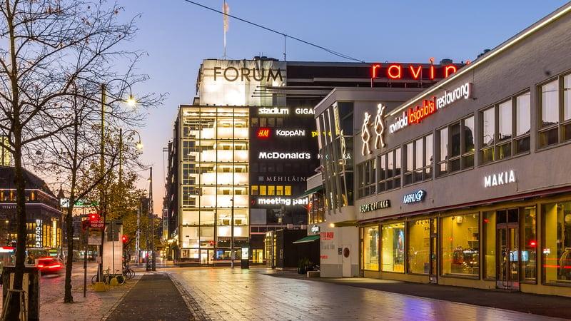 Forum kauppakeskus, Helsinki