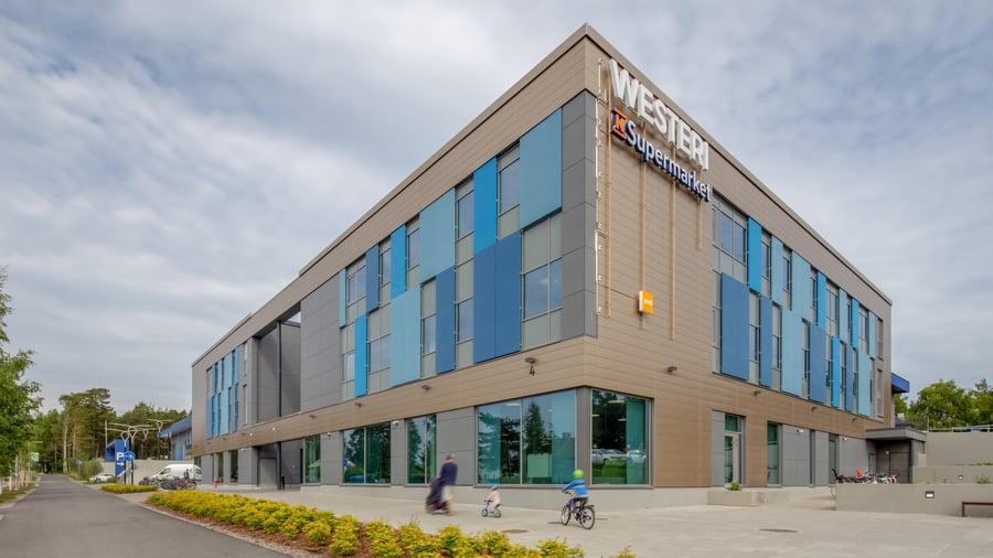 Tesoman liikekeskus Westeri, Tampere