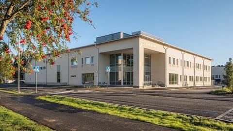 Muhoksen lukio rakennettiin uudella yhteistoiminnallisella KVR-urakkamallilla