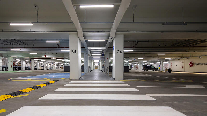 Pysäköintilaitos TAYSille, Tampere