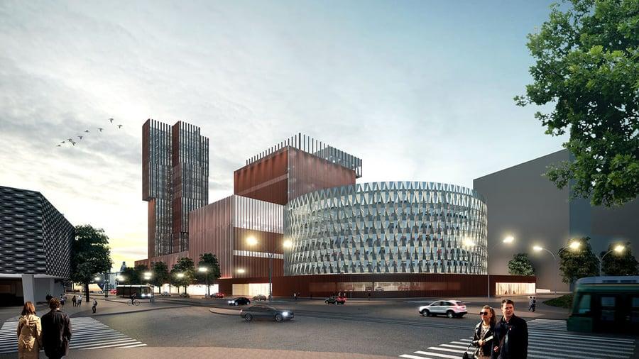 Royal Centerin liikennesuunnitelma, Helsinki