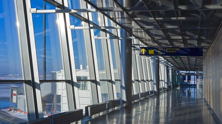 T1 terminaalin laajennus, Helsinki-Vantaa