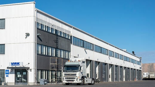 VAK maintenance hall and service premises, Vantaa