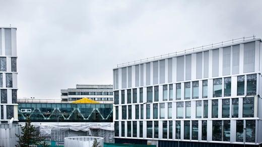 HUS Siltasairaalan rakennetekniset erikoisuudet onnistuivat maailmanluokan tietomallinnuksella