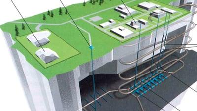 Fennovoiman käytetyn ydinpolttoaineen loppusijoituslaitos, Pyhäjoki/Eurajoki