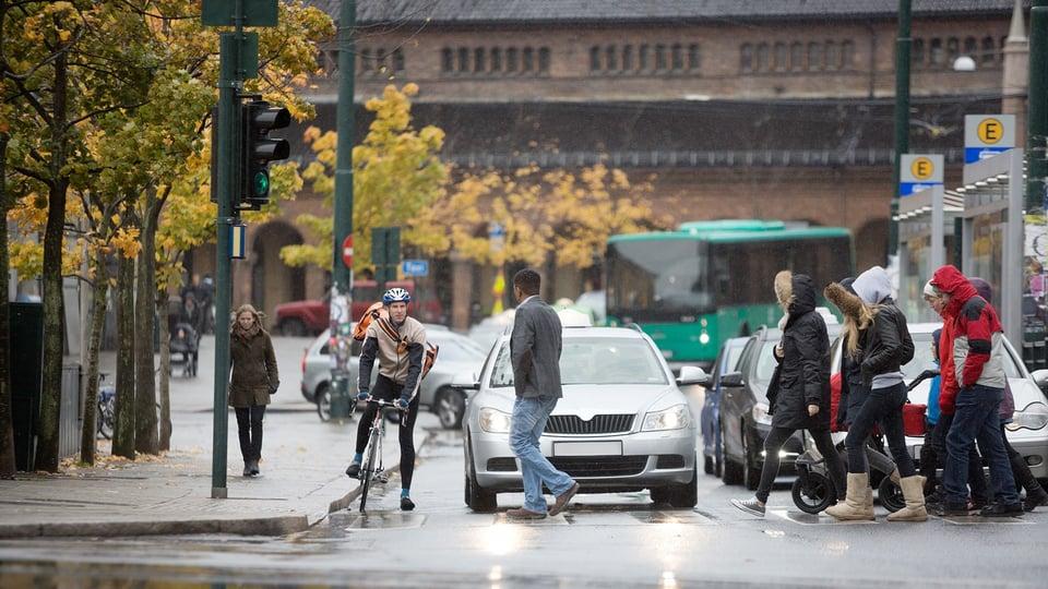 Tasapainoinen liikennesuunnittelu edistää kestävää liikkumista.