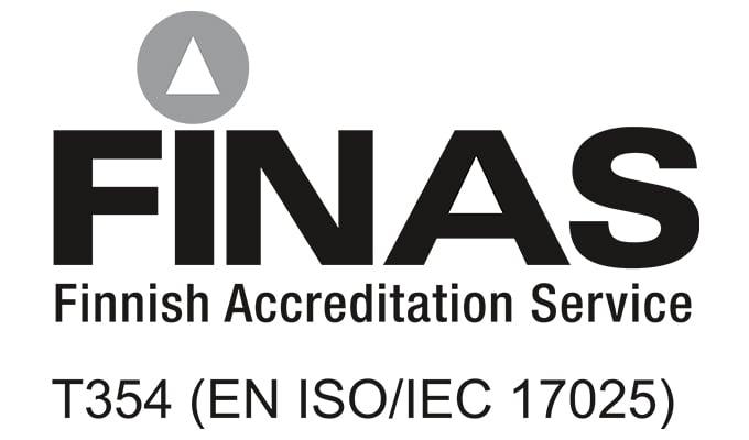 Finas t354 accreditation