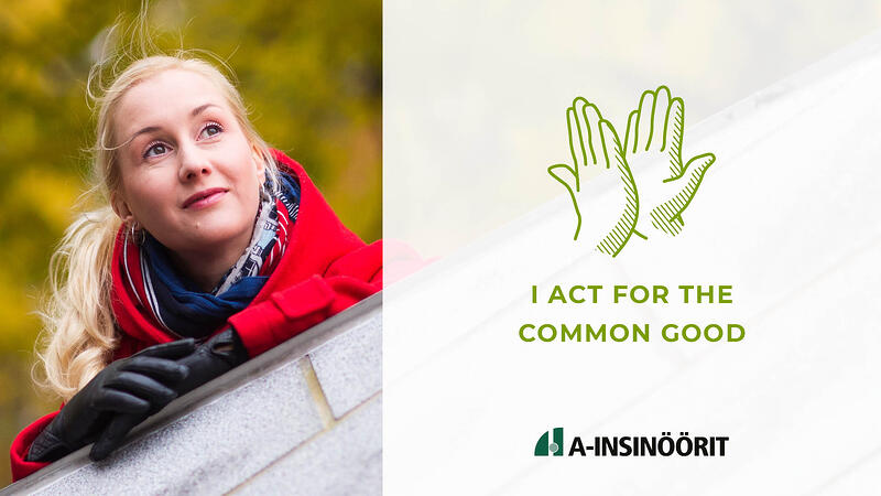 I act for the common good