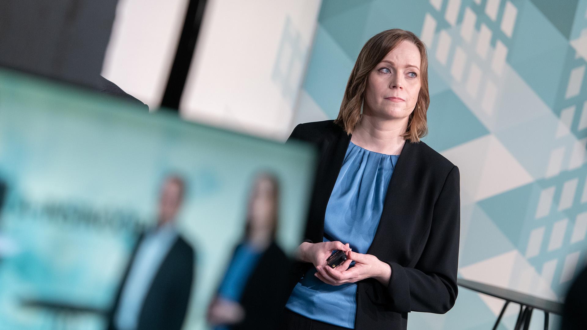 A-Insinöörien Saija-Varjonen kertoo, miten rakennukset kestävät 2070 ilmastossa.