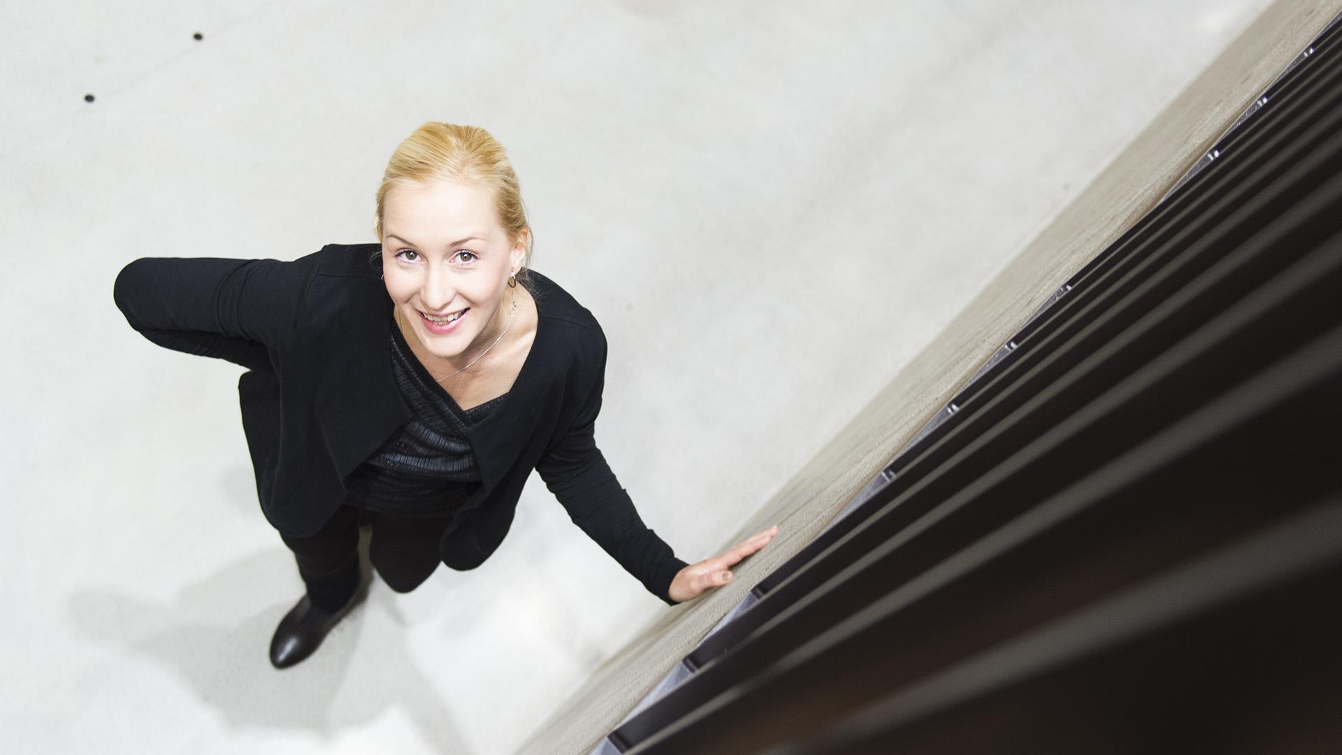 A-Insinöörien Liia Jäätvuori tutki peruskorjauksen hiilijalanjälkeä.