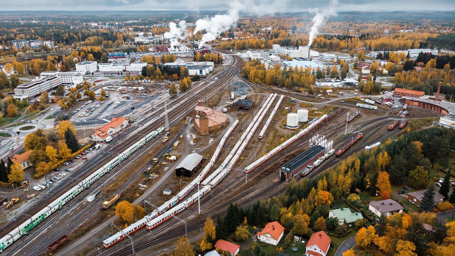 Joensuun juna-asema ja ratapiha uudistuvat nykyaikaista raideliikennettä varten