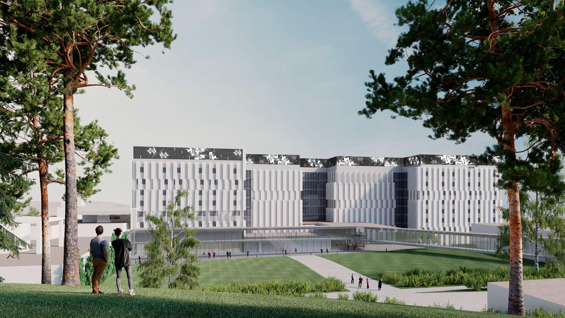 KYS Uusi sydän - sairaalan uudistushanke, Kuopio