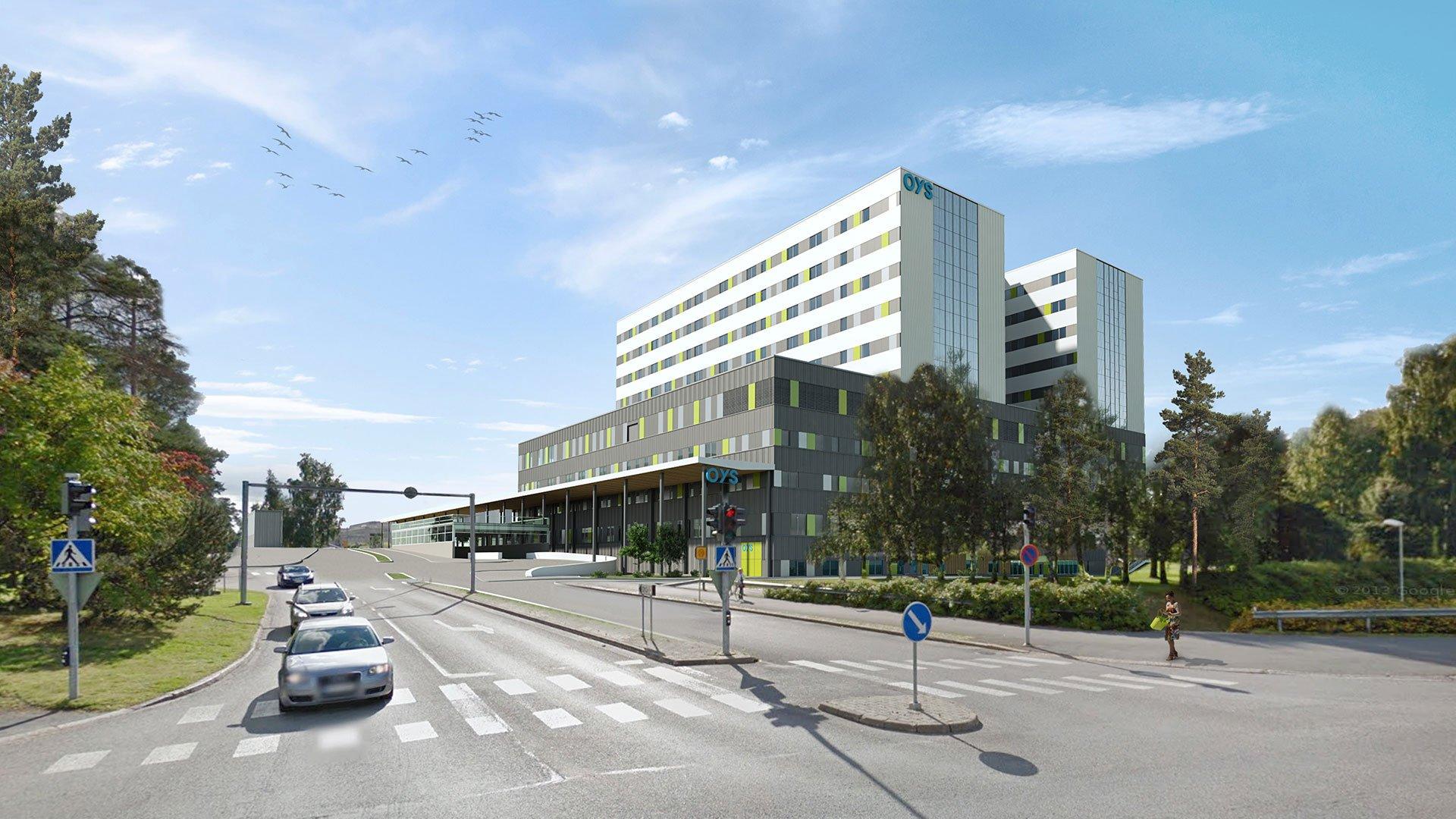 OYS 2030 -sairaalahanke etenee – B-talo käyntiin